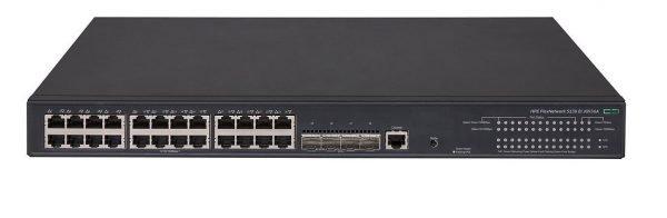 HPE Aruba 5130-24G-PoE+-4SFP+ EI Switch JG936A 10GB Uplinks Switch