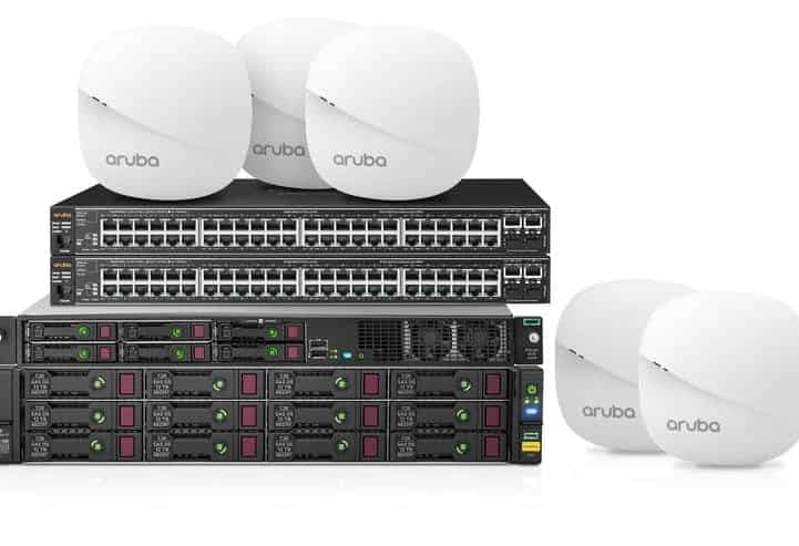 HPE Aruba  Wireless and Switches