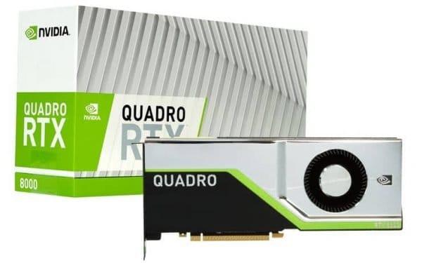Quadro RTX8000 Nvidia Graphic Card