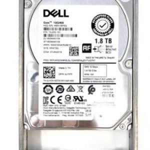 DELL 1.8TB 10K RPM SAS 12Gbps 512e 2.5in Hot-plug Hard Drive, 3.5