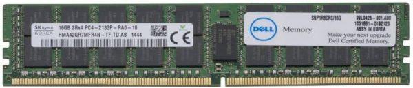DELL 1R8CR ECC Rdimm Memory
