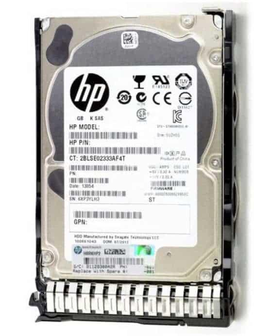HP 1.2TB 12G SAS 10K 2.5″ SC Enterprise HDD PIN 781518-B21 DL120 Hard Server