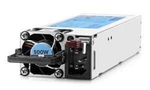 HPE 500W Flex Slot Platinum Hot Plug Power Supply Kit PIN- 720478-B21