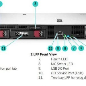 HPE ProLiant DL20 Gen10 P17077-B21