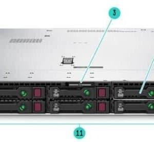 HPE Proliant DL360 P19776-B21 HP DL360 Server 4Port