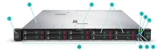HPE Proliant DL360 P19776-B21