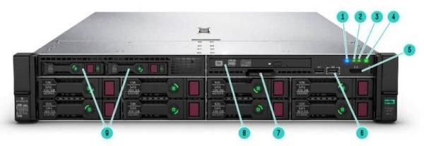 HPE Proliant L380 Rack Server 4port 366FLR P24841-B21