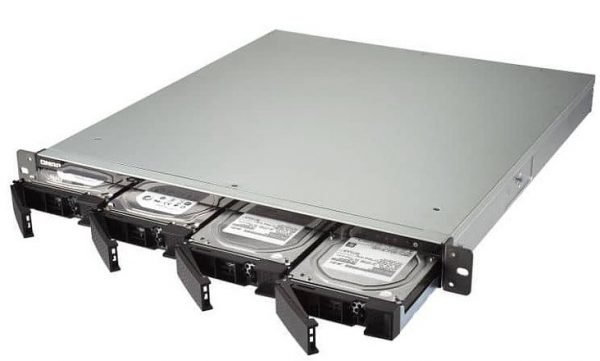 QNAP SFP+ Rackmounted NAS Storage 10G TS-432XU-RP