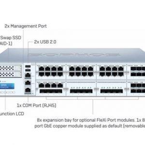 Sophos XG 750 Rev.2 Sophos firewall 8port XB751CSUS
