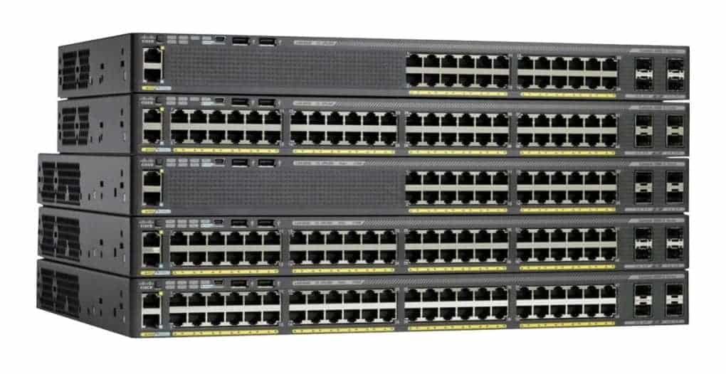 Cisco 2960-X and XR Series Switches