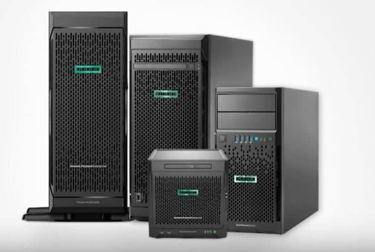 HP Tower Servers